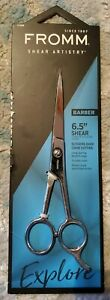 """FROMM Shear Artistry Barber 6.5"""" Shear (scissors over comb cutting)"""