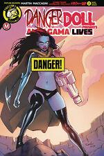Action Lab NM//NM Amalgama Lives #1 Danger Doll Squad Presents Trom 2019