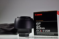 ** MINT ** Canon EF 85mm f/1.2 L II USM