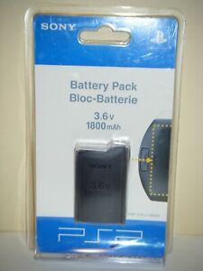 Authentic Sony PSP 3.6V 1800mAh Battery Pack PSP-110u/98523