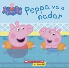 Peppa va a Nadar (Hardback or Cased Book)