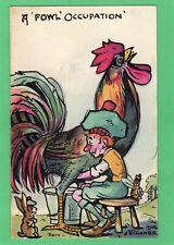 More details for scottish  comic humour  hand painted j e tasker 1914  pc  ak41