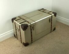 Handmade Industrial Trunks and Chests