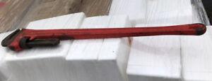 RIGID 48 inch Pipe Wrench Original