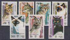 Kampuchea 666 - 72 Cats (MNH)