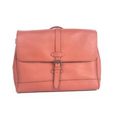Coach Men's F23204 Hudson Messenger Bag In Saddle Natural Leather