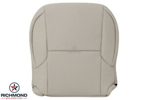 For 2010-2013 Lexus GX460-Driver Side Bottom Leather Seat Cover Ecru White/Cream