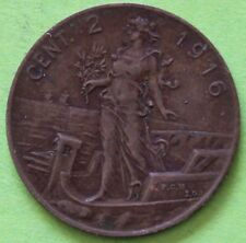 ITALIE 2 CENTESIMI 1916