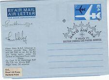 SC17b Flown RAF Chivenor Official RAF Museum Air Letter 7 Aug 71 BFPS 1169