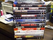 (17) Robert DeNiro DVD Lot: Freelancers Goodfellas Heat Raging Bull Grudge Match
