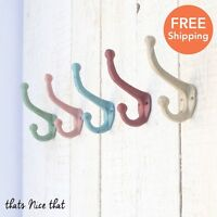 Industrial Colour Coat Hook Vintage Bedroom Wall Storage Metal Hooks Door Rustic