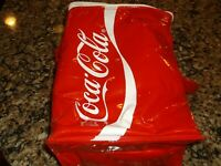 COCA COLA COKE SODA COOLER COOLERS  DISPLAY ITEM PLASTIC INSULATED 2 LITER TOTE