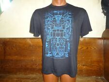 (W) Voltron animated television series Giant Super Robot black no tag t-shirt