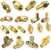 18 Type SMA Adapter Kits Male Female WiFi Antenna Plug Converter Adapter Set