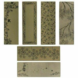 NEW Elegance Stylish Range Beige Indoor Machine Washable Runner Mat | 50 x 150CM