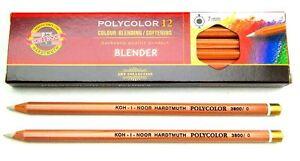Coloured Softening Pencil Blender KOH-I-NOOR POLYCOLOR 3800 for Artists Blending