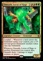 Omnath, Locus of Rage x1 Magic the Gathering 1x Battle for Zendikar mtg card