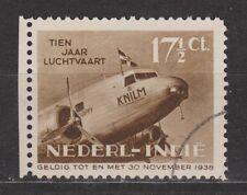 Nederlands Indie Indonesie 239 used randvel Netherlands Indies 1938 luchtpost