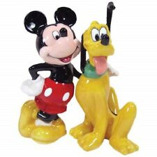 New Westland Giftware DISNEY MICKEY MOUSE AND PLUTO Salt & Pepper Shakers