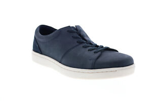 Clarks Kitna Vibe 26148146 Mens Blue Nubuck Lifestyle Sneakers Shoes