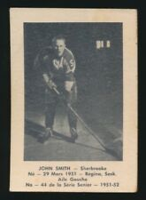 1951-52 Laval Dairy (QSHL) #44 JOHN SMITH (Sherbrooke)