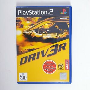 Driver - Sony Playstation 2 PS2 - Free Postage + Manual