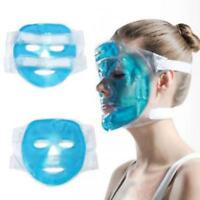 Gel Hot Ice Pack Cooling Face Mask Pain Headache Relief Chillow RelaxingPil D3H2