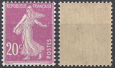 FRANCE TIMBRE TYPE SEMEUSE N°190 NEUF ** LUXE GOMME D'ORIGINE MNH