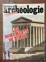 Rivista File Di Archeologia N° 55 Histoire E I Monumenti Di Nîmes 1981
