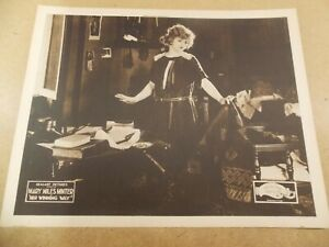 """HER WINNING WAY(1921)MARY MILES MINTER ORIGINAL 11""""BY14"""" LOBBY CARD EXCELLENT"""