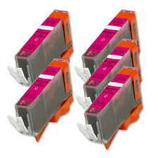 5 PK MAGENTA ink Cartridge w/ chip fits Canon CLI-221 iP4600 iP4700 MP560 MP620