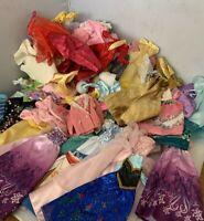 Lot of 100+ Pieces Barbie Clothes Disney Princess Dresses Coats Shirts Skirts