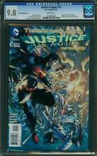 JUSTICE LEAGUE 15 CGC 9.8 Jim Lee Cover Scott Williams Johns Daniel  Shazam 2013