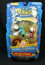 McFarlane Toys Nickelodeon RABBIDS The Driller / Starfish Friend Value 2 Pack