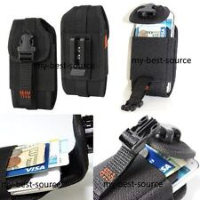 [A50] Secure Pouch Belt Loop & Clip Holster Card Money Case Cover For Samsung