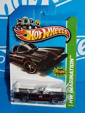Hot Wheels 2013 Batman Series #62 Classic Tv Series Batmobile Black