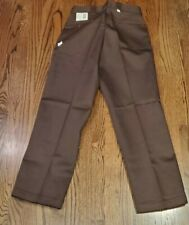 New Vintage Dead Stock Dickies Brown Work Pants Trousers 36x30 USA  NWT Jeans