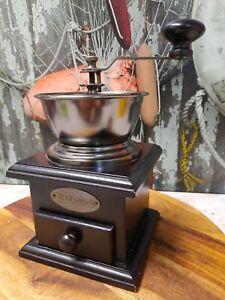 Hand Operated SAVANNAH Coffee Grinder Mill, as new condition.