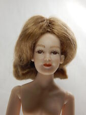"Heidi Ott Doll House Miniature Doll Wig for Female adult 5.5"" Dt Blonde #Xw01-2"