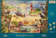 HOP Deluxe 'SMUGGLERS COVE' 1000-Piece Jigsaw Puzzle - **Excellent Condition**