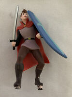 "Disney's Sleeping Beauty Prince Phillip 4"" Figure Cake Topper Sword & Shield"
