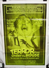 TERROR FROM UNDER THE HOUSE - 1971 Revenge Thriller - Lot of 5 One-Sheet Posters