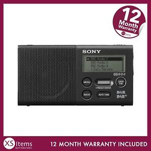 Sony XDRP1BDP Pocket DAB/DAB+/FM Radio Battery Micro USB Rechargeable Black