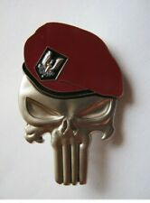 INSIGNE PUNISHER  COMMANDOS PARACHUTISTES RPIMa SAS ETAT EXCELLENT