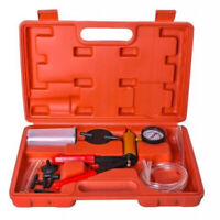 Kit pompa a vuoto manuale per cambio spurgo olio freni auto moto pressione motor