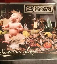 3 Doors Down ‎– Seventeen Days  with Booklet