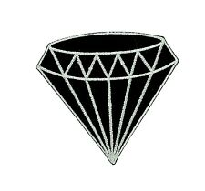 Patch toppe toppa ricamate termoadesiva diamante biker punk