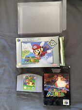 Nintendo 64 Super Mario 64 Boxed N64 UK PAL With Box Protector