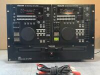 TASCAM CD-302 DUAL CD PLAYER - DJ TOOL - GREAT USED CONDITION -