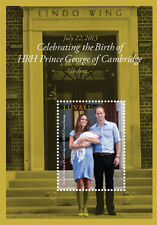 Tuvalu - Birth of Prince George Of Cambridge Stamp - Souvenir Sheet MNH